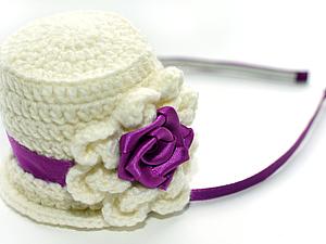 Шляпка-цилиндр | Ярмарка Мастеров - ручная работа, handmade