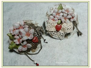 МК «Брошь. Весна в Париже»   Ярмарка Мастеров - ручная работа, handmade