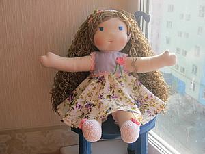 Детская игровая кукла в вальдорфском стиле! АУКЦИОН! | Ярмарка Мастеров - ручная работа, handmade