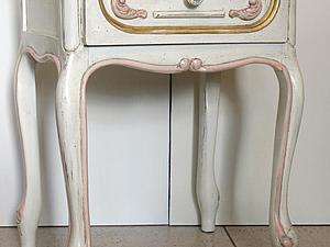 Как из обычного столика сделать антикварный. Ярмарка Мастеров - ручная работа, handmade.