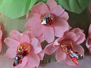 Как сделать цветок лотоса для конфетной композиции. Ярмарка Мастеров - ручная работа, handmade.