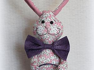 Шьем пасхального заяца. Ярмарка Мастеров - ручная работа, handmade.
