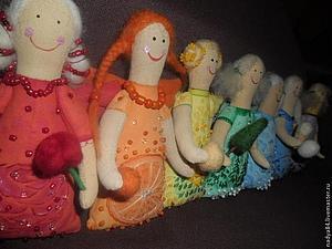 Мастер-класс: текстильная кукла Ангел (примитив) | Ярмарка Мастеров - ручная работа, handmade