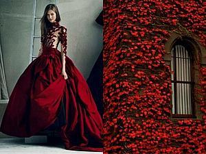 20 платьев, срисованных с природы | Ярмарка Мастеров - ручная работа, handmade