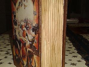 Шкатулка-книга  декупаж, имитационные техники скидка! | Ярмарка Мастеров - ручная работа, handmade