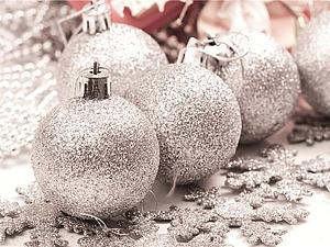 Мерцание Новогоднего серебра | Ярмарка Мастеров - ручная работа, handmade