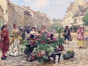 Цветочницы Парижа | Ярмарка Мастеров - ручная работа, handmade