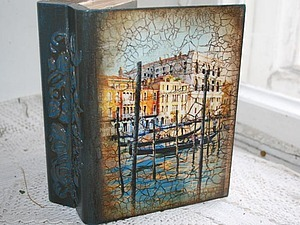 Мк - винтажная книга-шкатулка | Ярмарка Мастеров - ручная работа, handmade