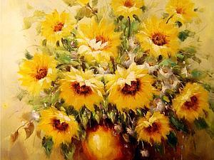 Подсолнухи Винсента Ван Гога | Ярмарка Мастеров - ручная работа, handmade