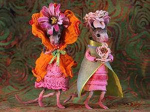 Мэгги Руди и её мышиная страна. Ярмарка Мастеров - ручная работа, handmade.