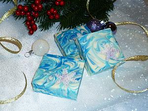 Снижение цены на новогоднее мыло! | Ярмарка Мастеров - ручная работа, handmade