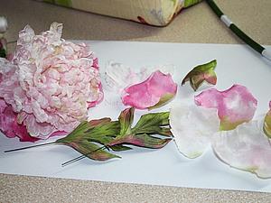 Шелковые цветы. Как и из чего я их делаю. | Ярмарка Мастеров - ручная работа, handmade