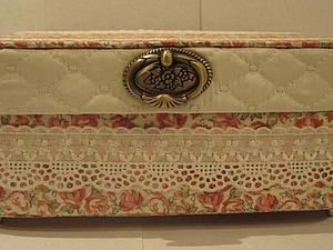 Изготовление шкатулки в технике картонаж. Ярмарка Мастеров - ручная работа, handmade.