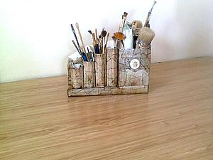 Декорирование любой твёрдой поверхности-эффект каменной поверхности. Ярмарка Мастеров - ручная работа, handmade.