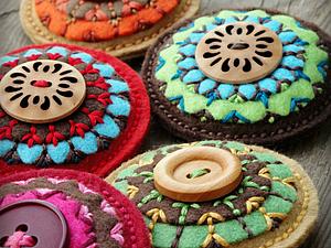 Удивительный мир кругов | Ярмарка Мастеров - ручная работа, handmade