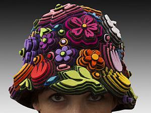 Многогранные таланты Danielle Gori-Мontanelli: холст, металл, войлок | Ярмарка Мастеров - ручная работа, handmade