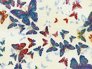 Яркие бабочки на ярких цветах.   Ярмарка Мастеров - ручная работа, handmade