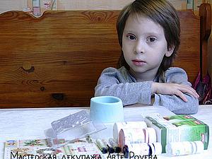 Мыло с декупажем: или подарок для бабушки за полчаса.. Ярмарка Мастеров - ручная работа, handmade.