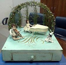 Мастер-класс: создаем миниатюру «Летняя эстрада». Ярмарка Мастеров - ручная работа, handmade.