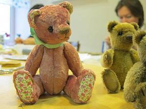 Миниатюрный мишка Тедди. Курс. | Ярмарка Мастеров - ручная работа, handmade