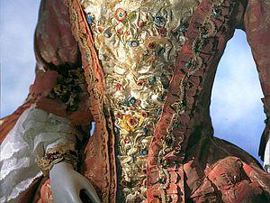 Стомак — «живот» на платье: история одной детали старинного платья. Ярмарка Мастеров - ручная работа, handmade.
