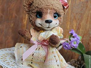 Мастер-класс по созданию вязаного мишки тедди | Ярмарка Мастеров - ручная работа, handmade