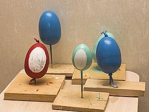 Мастерим пасхальные яйца из папье-маше. Ярмарка Мастеров - ручная работа, handmade.
