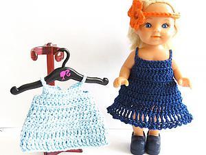 Вяжем платье для куклы крючком. Просто и быстро. Ярмарка Мастеров - ручная работа, handmade.
