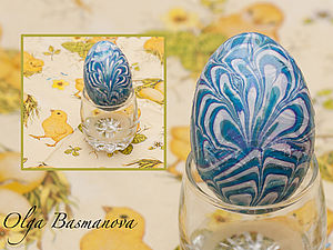Расписное яйцо: мастер-класс. Ярмарка Мастеров - ручная работа, handmade.