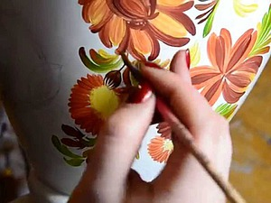 10 фактов о Петриковской росписи. Ярмарка Мастеров - ручная работа, handmade.