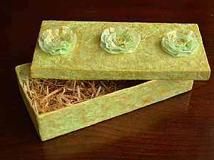 Упаковка. Красивая подарочная коробка, handmade