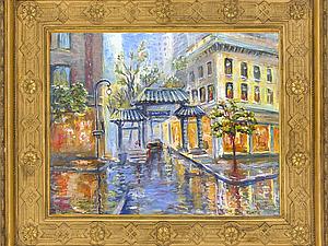 Видео как написать городской пейзаж масляными красками. Ярмарка Мастеров - ручная работа, handmade.