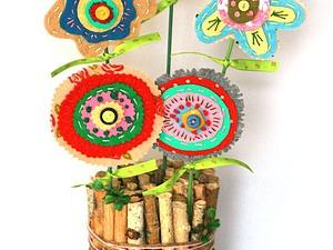 Создаем пасхальную композицию: пенек с декором | Ярмарка Мастеров - ручная работа, handmade