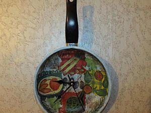 Даем вторую жизнь сковороде — превращаем ее в часы | Ярмарка Мастеров - ручная работа, handmade