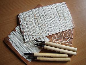 Текстурный лист  для полимерной глины своими руками. Ярмарка Мастеров - ручная работа, handmade.