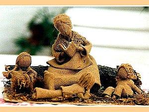 Легенда о Неизвестном Мастере, или Куклёшки из рогожки. Ярмарка Мастеров - ручная работа, handmade.