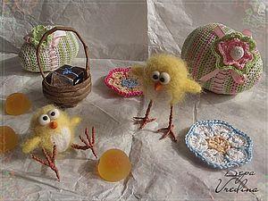 Цыплята примтивчики. | Ярмарка Мастеров - ручная работа, handmade