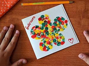 Детское творчество - аппликации, поделки из