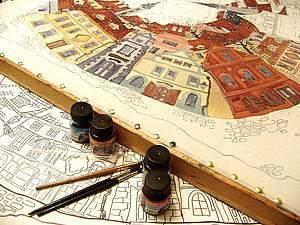 Мастер-классы батика для всех желающих в рамках Петербургского батик-форума | Ярмарка Мастеров - ручная работа, handmade