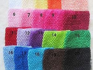 Широкие вязаные повязки.   Ярмарка Мастеров - ручная работа, handmade