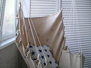 Мастер-класс: кресло-гамак своими руками | Ярмарка Мастеров - ручная работа, handmade