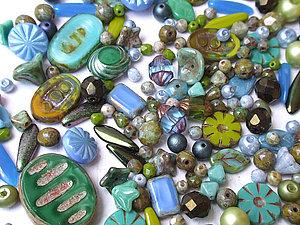 Разнообразие чешских бусин: примеры использования в украшениях | Ярмарка Мастеров - ручная работа, handmade