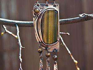 Создаем кулон «Властелин степи». Ярмарка Мастеров - ручная работа, handmade.