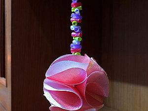 Видео мастер-класс: делаем новогодний декор — шар из бумаги. Ярмарка Мастеров - ручная работа, handmade.