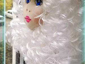 Изготовление трессов для кукол из метражных кудрей. Ярмарка Мастеров - ручная работа, handmade.
