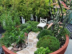 Мини садики своими рукми | Ярмарка Мастеров - ручная работа, handmade