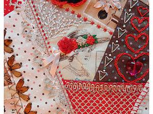 Делаем сами Crazy Quilt. Часть 2. Ярмарка Мастеров - ручная работа, handmade.