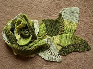 Аукцион на весенний шарфик!   Ярмарка Мастеров - ручная работа, handmade