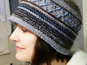 Вязаная шляпа, которая идёт всем. | Ярмарка Мастеров - ручная работа, handmade