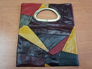 Изготовление кожаной сумки | Ярмарка Мастеров - ручная работа, handmade